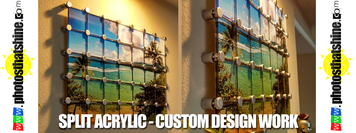 split acrylic | custom designs